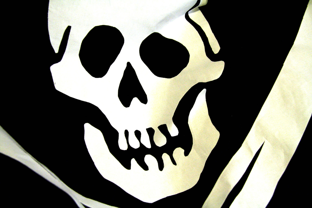 jolly roger by Here's Kate