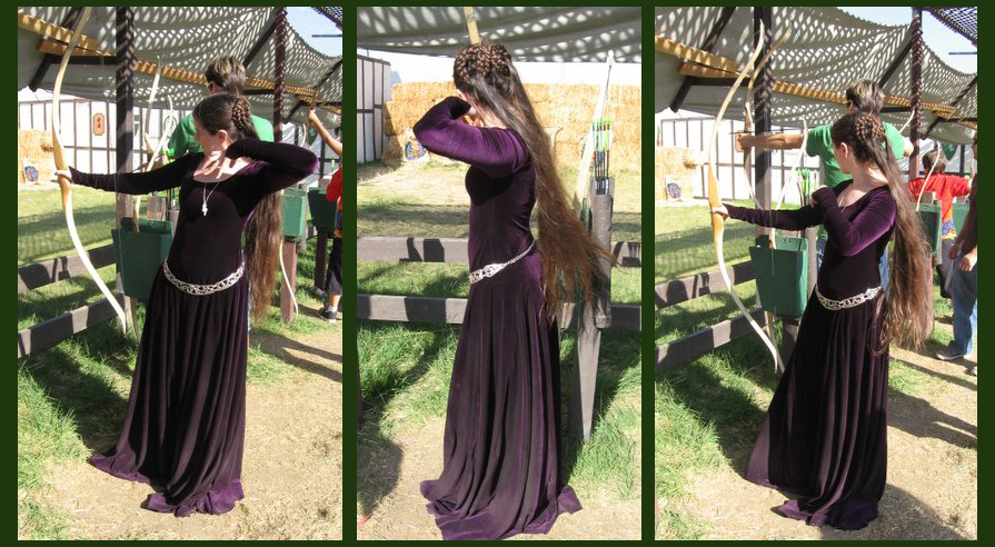 purple_dress___archery_by_aelthwyn