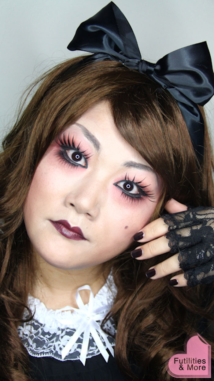 GOTHIC LOLITA DOLL-HALLOWEEN MAKEUP-FUTILITIESANDMORE-FUTILITIES AND MORE-FUTILITIESMORE-45