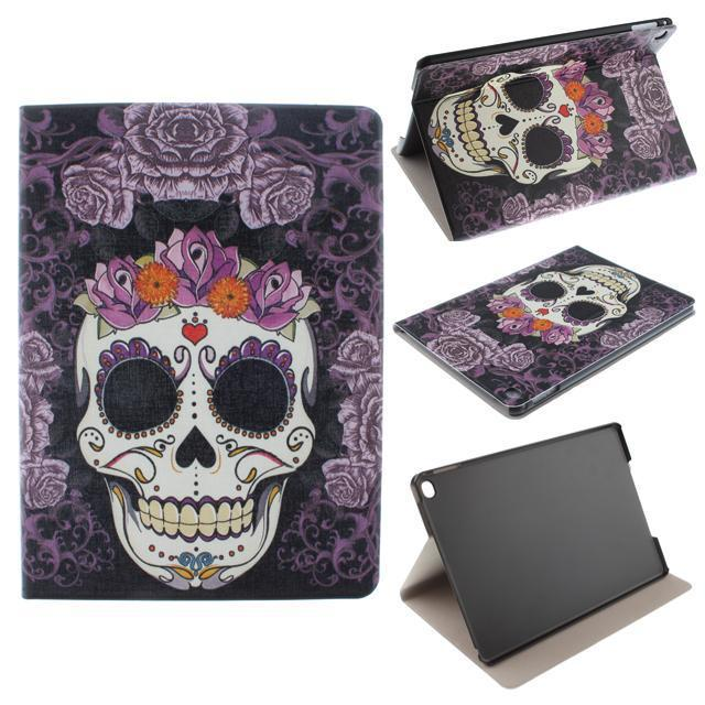 Fashion-luxury-font-b-Tablet-b-font-flip-cover-for-iPad-6-font-b-skull-b