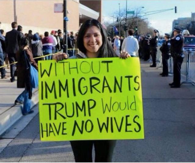 trump-immigrants-wives-sign